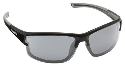 Cressi Phantom Sonnenbrille, Schwarz/Gläser Dunkelgrau, One Size