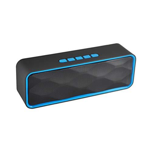 SUPVOX Bluetooth-Lautsprecher für den Außengebrauch (blau)
