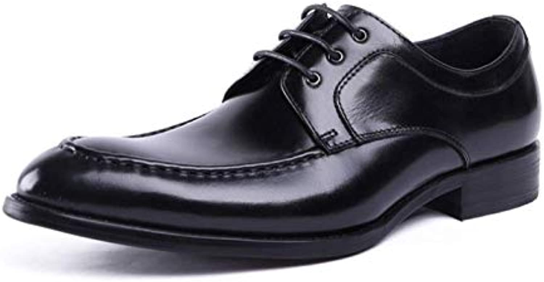 Scarpe da Uomo in Pelle Business Casual Casual Casual Broch Gomma Traspirante Confortevole Pizzo Intagliato | Ottimo mestiere  1d9440