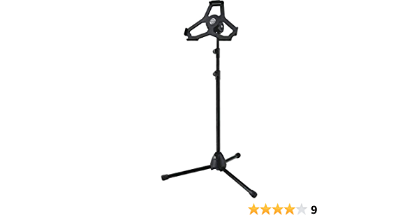 K And M 19777 Tripod For Ipad Air 2 Black Musical Instruments