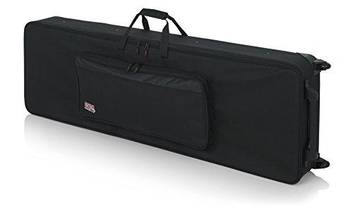 Gator Keyboard-Koffer (für Keyboards mit 88 Tasten, leicht, mit Rollen, Innenmaß ca. 146,5 x 45,7 x 15,2 cm)