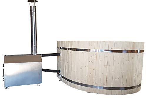 Heizung Badefaß Badebottich 38 KW Edelstahl Ofen für Quickup Pool Poolofen