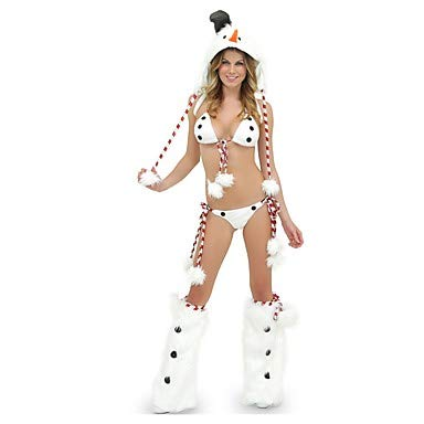 HAOBAO Cosplay Kostüme Bikini Vampire Cosplay Fest/Feiertage Halloween Kostüme Vintage BH Slip Halloween Karneval Frau Leinen/Baumwolle Elastan Leinen Slip