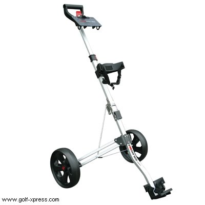 Masters 5 Series Golftrolley silberfarben -