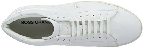 Boss Orange Stillnes Hicu Ltpl 10191240 01, Sneakers Hautes Homme Blanc (100)