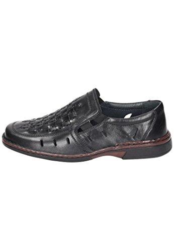 Comfortabel  Comfortabel Herren Slipper, Mocassins pour homme noir noir Noir