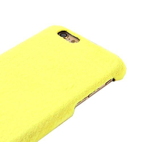 Phone case & Hülle Für IPhone 6 / 6s, stilvolle feste Farbe Wistiti harte rückseitige Abdeckungs-schützende rückseitige Fall ( SKU : S-IP6G-2117W ) S-IP6G-2117Y