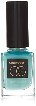 The Organic Pharmacy Organic Glam Nail Polish, Aqua 11 ml
