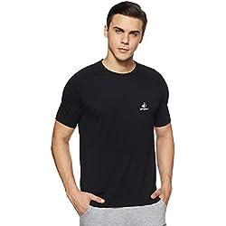 Jockey Men's Cotton T-Shirt (8901326073810_SP24_M_Black)