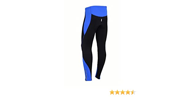 60946226de1 ProAthletica Womens Winter Cool Max Padded Cycling Tights Trousers Running  Thermal Leggings (Black Blue