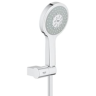 GROHE 27741000 Power and Soul Cosmopolitan Set with Hand Shower (115 mm), Shower Hose (1250 mm) and Hand Shower Holder