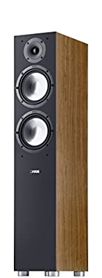 Canton GLE 476 coppia diffusori da pavimento NOCE in promozione da Polaris Audio Hi Fi