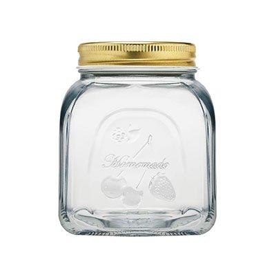 Pasabahce Toughened Glass Dishwasher and Refriegarator Safe Jar Set (Set of 2)