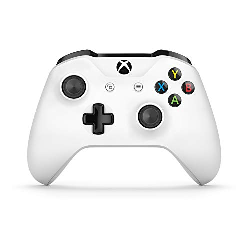 Microsoft - Xbox Wireless Controller Gamepad, Blanco (PC, Xbox One S)