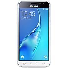 """Samsung Galaxy J3 (2016) SM-J320F Dual SIM 4G 8GB White - Smartphones (12.7 cm (5""""), 1.5 GB, 8 GB, 8 MP, Android, White)"""