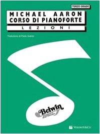 Corso di pianoforte. terzo grado