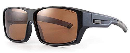 Sun Dog Herren Sonnenbrille schwarz schwarz