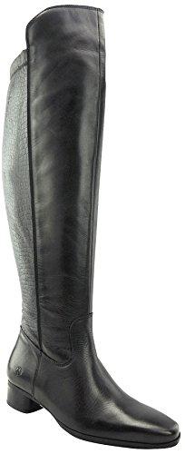 JJ Footwear, Bottes pour Femme Schwarz Nappa Capri