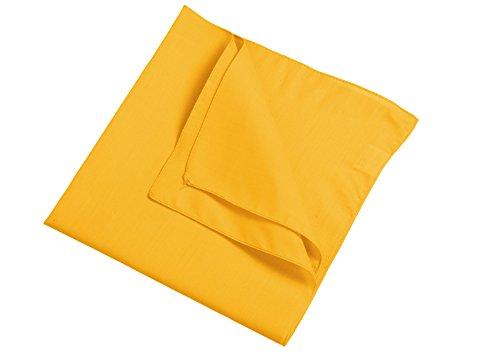 Bandana in gold-yellow