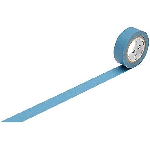 Cinta Máscara MT Kamoi Kakoshi KMMT MKT1PB-AP-japonesa planta de papel adhesivo removible Fibras Base Azul Piscina 1000 x 1,5 cm