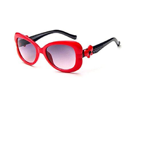 O-C Damen Sonnenbrille Blue frame,red arms
