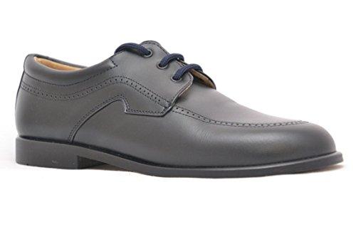 Patupeke 20333 Zapato De Comunion De Lino Y Ante L40ytR
