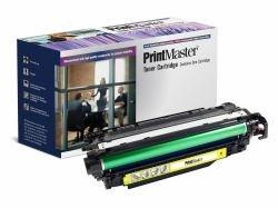 PrintMaster Yellow Toner Cartridge for HP Laserjet Enterprise 500 Color M551 Series; MFP M570 DN /-M575c; Canon LBP-7780 -
