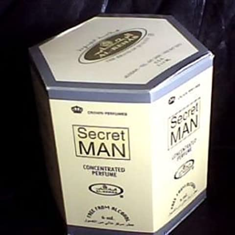 Secret Man por Al-Rehab Compra al por mayor - 6 x 6ml Aceites perfumados