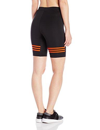 adidas Herren Tights Response Shorts Black/Bold Orange