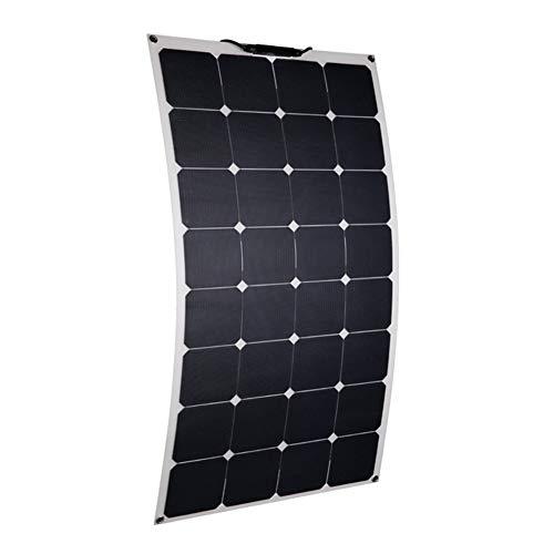 JAYLONG 100W Flexible Solarpaneele, 12V/24V Sicherheits-Solarladegeräte, Geeignet Für Dächer, Outdoor Und Autos, 10 Jahre Lebensdauer - Portable-rv-generator