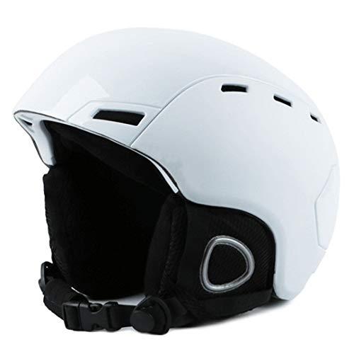 Direkte Saling Marke Mann Frau Ski Helm Winter Schnee Snowboard Helm Skateboard Schnelle Moto Bike Maske Reiten Angeln Sport Sicherheit White M 52-55cm