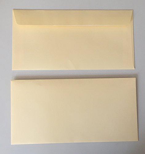 Kit 100Buste da lettera con striscia adesiva,