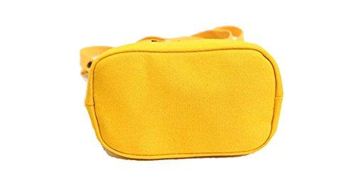 Blue Vessel Segeltuch-Stickerei-Schulter-Beutel-Frauen-Kurier-Beutel-Damen-Handtaschen-Strand-Tote Gelb