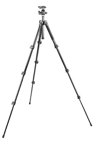 Manfrotto MK293A4-A0RC2 293 Stativ-Set (inkl. Aluminum Short Stativ mit Kugelkopf 494RC2)