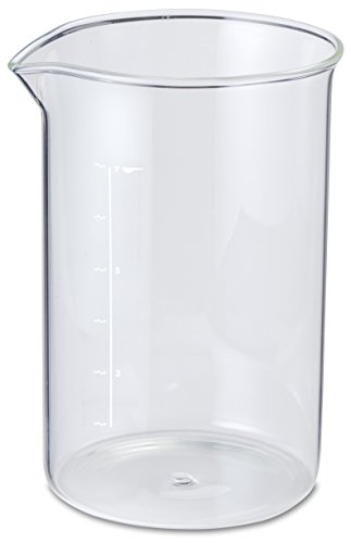 aerolatte Spare / Replacement Glass Beaker / Carafe for 7-Cup / 800 ml French Presses / CafetiÃÃ\'¨res by aerolatte