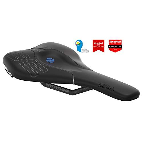 Sq Media (SQlab 612 Ergowave Carbon, 14 cm, Road & MTB Race Fahrradsattel)