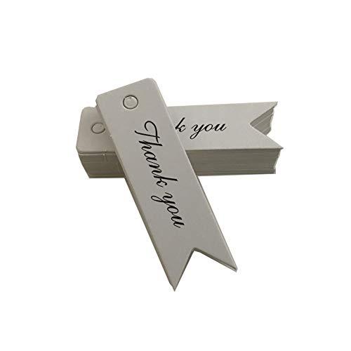 Youkara retro etichetta di cottura etichette di carta targhette per regali cartellini per matrimonio cuore cartellini matrimonio etichette vuote 7cm*2cm 100pcs
