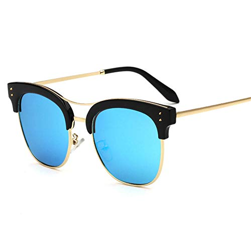 ANSKT Polarisierte Sonnenbrille Uv400 mit halbem Rahmen. Polarisierte Sonnenbrille