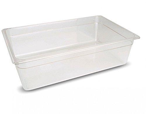 Sous Vide Behälter Polycarbonat 1/1 GN 30 Liter 530x325x200 Becken bis 138°C