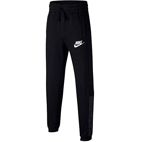 Nike Jungen B NSW Advance Pants, Black/White, M