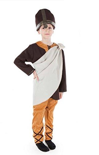 Anglo Saxon pour garçon Déguisement historique anglais 5-7 ans (Anglo Saxon Kostüm Kinder)