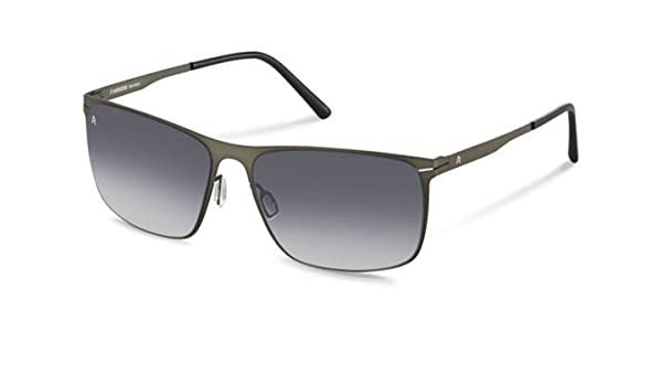 7031ad00fa4 Rodenstock Sunglasses R1403 A  Amazon.co.uk  Clothing