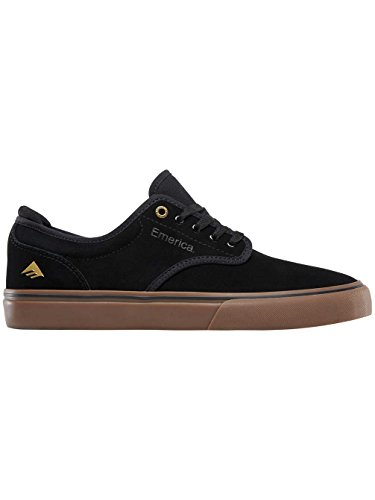 Emerica Wino G6 Black White, Chaussures de Skateboard Homme Black/Gum