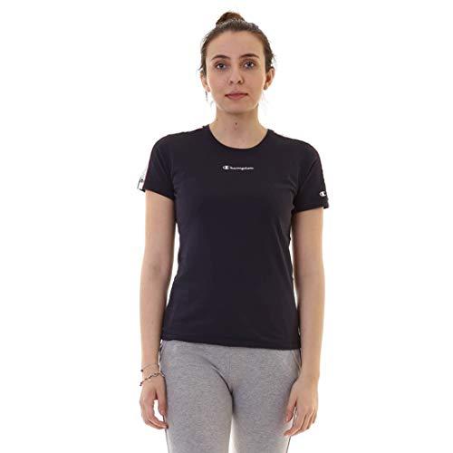 Champion Crewneck T-Shirt, Navy, Gr. M -