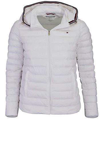 Tommy Hilfiger Damen TH Essential LW DWN Pack JKT Jacke, Weiß (Snow White 118), Medium(Herstellergröße:M) Jkt Snow
