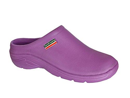 Plain Wellies (Town & Country, Damen Pumps - Plain Purple)
