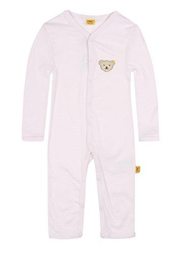 Steiff Unisex - Baby Strampler/Schlafanzug Rosa (Barely Pink) 62