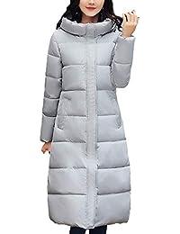 a584c70b67aa2 Donna Cappotto Trapuntato Lunga Invernali Fashion Locker Taglie Forti  Incappucciato Parka Invernale Addensare Manica Lunga Grazioso