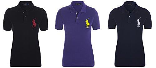 size 40 84016 da676 Ralph Lauren Damen Poloshirt Skinny Fit Big Pony