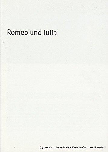 Programmheft Romeo und Julia von William Shakespeare. Premiere 29. Mai 2008 im Residenz (Romeo Kostüm Romeo Und Julia)